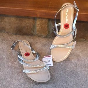 Shoes - Sandler's-silver and stones